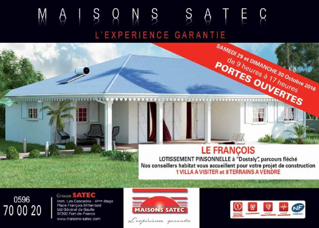 Journ es portes ouvertes le francois constructeurs de for Prix des plans constructeurs